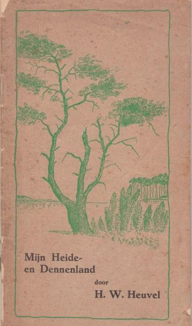 De omslag van het boekje. Foto: PR