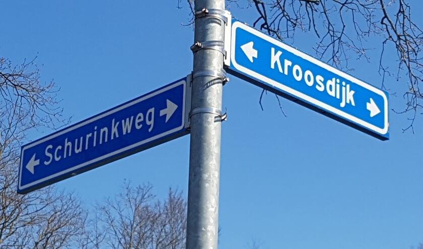 Goed nieuws voor de omwonenden van de Schurinkweg en de Kroosdijk.