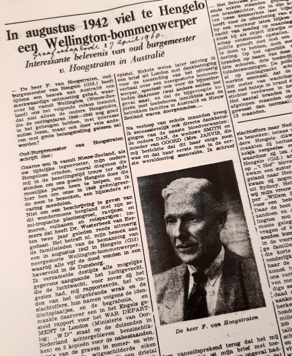 De Graafschapbode, 27 april 1960. Foto: Archief Willy Hermans  © Achterhoek Nieuws b.v.