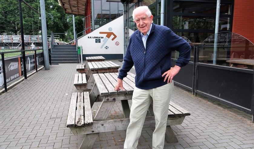 Henk Elshof, aanwezig op zijn tweede thuiskomen: sportpark De Treffer. Foto: Theo Huijskes
