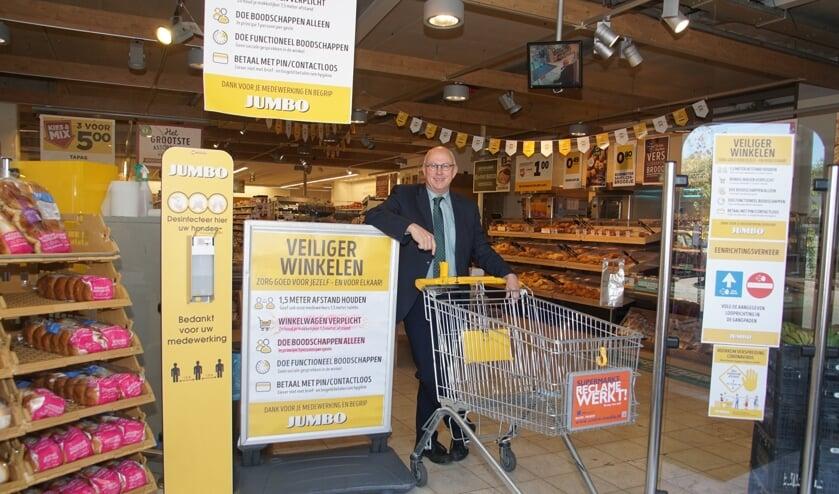 Wilfried Arentz roept op de maatregelen te blijven respecteren. Foto: Frank Vinkenvleugel