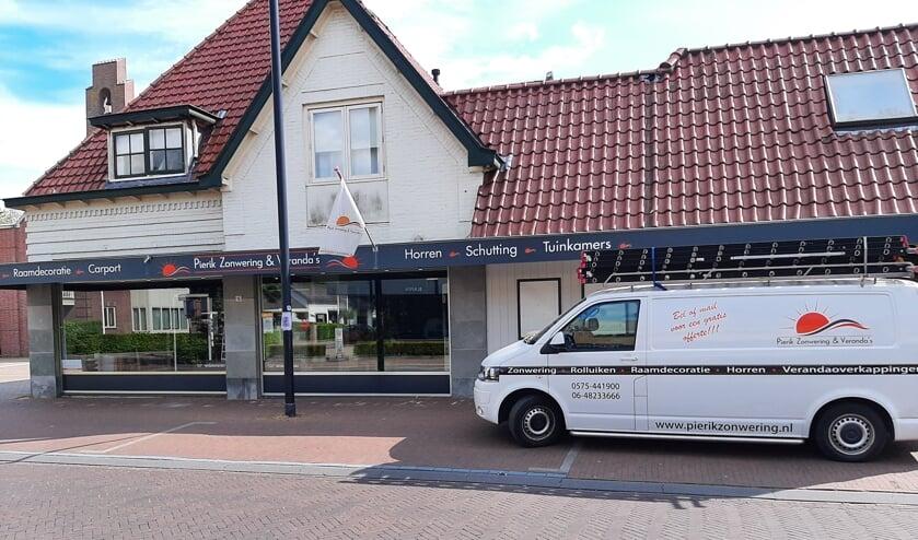 De showroom aan de Zutphenseweg 15 in Vorden. Foto: PR