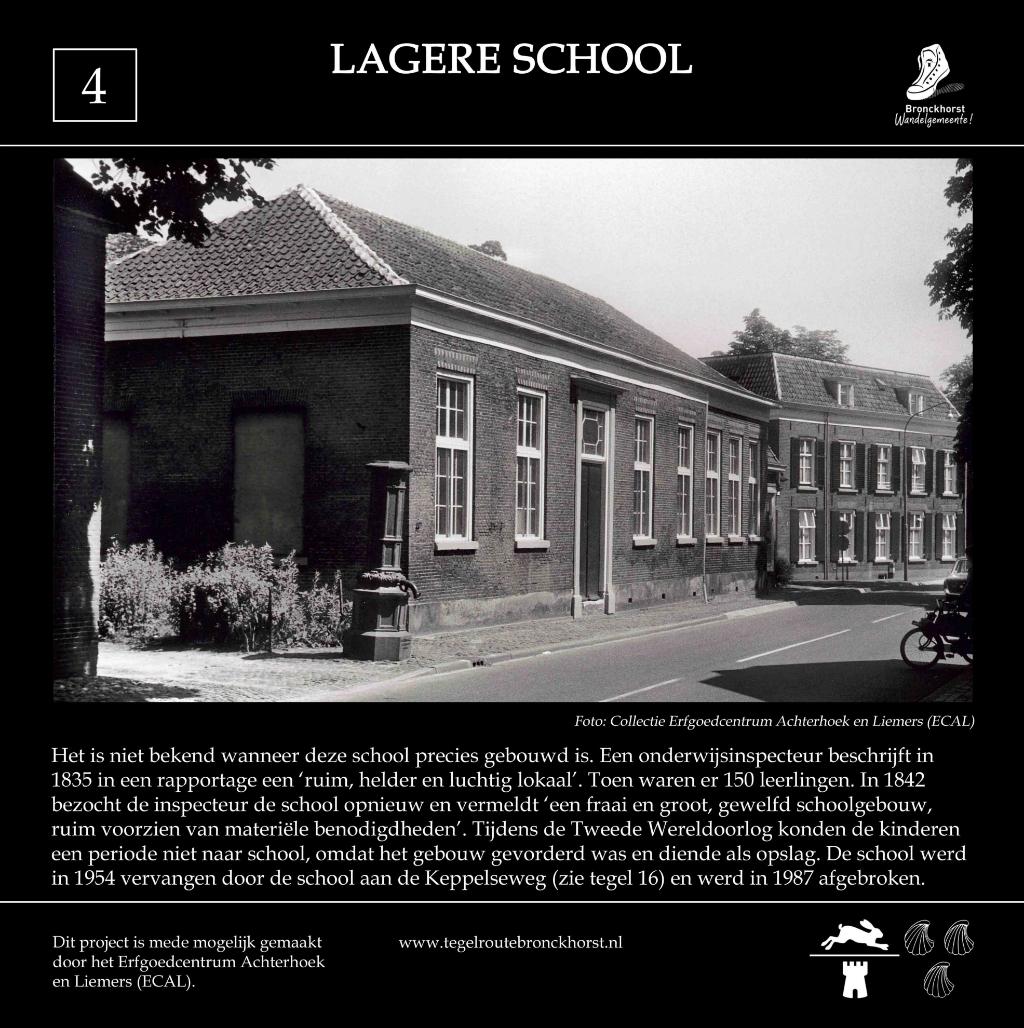 Opzet tegel 4 lagere school. Foto: PR  © Achterhoek Nieuws b.v.