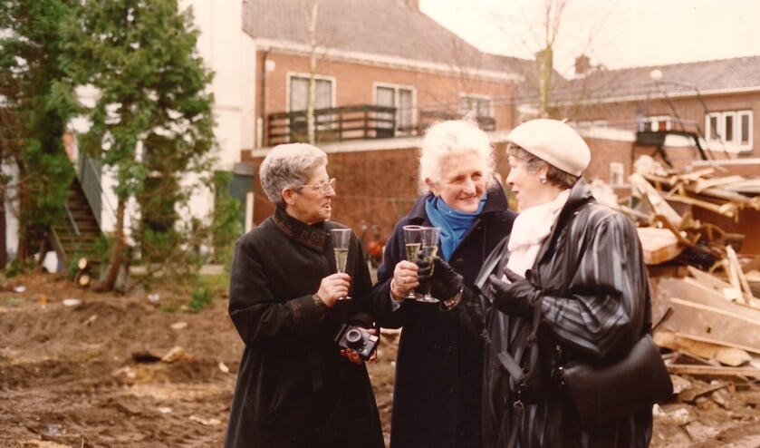 Betty Löwenhardt, Miene Wolsink en Door Dickmann. Foto: Archief Willy Hermans