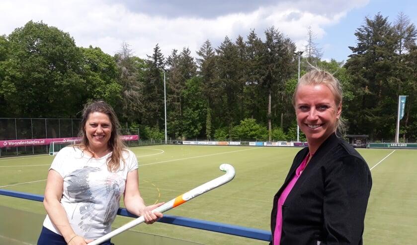 Jolien Muntjewerf en Nynke Colvoort. Foto's: Marieke Post