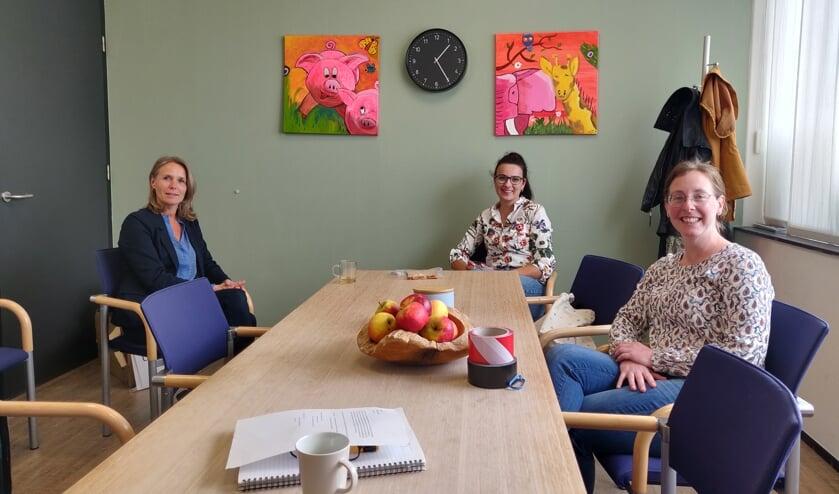 Simone Poels, Nienke Lammersen en Gerdien Venderink. Foto: Rob Stevens