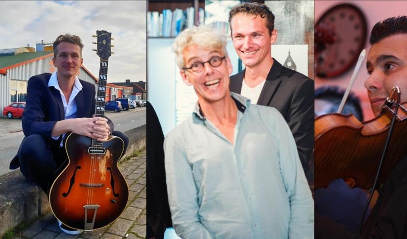 V.l.n.r. Joost Zoeteman, Taeke Stol (voorgrond) en Wattie Rosenberg. Foto's: PR