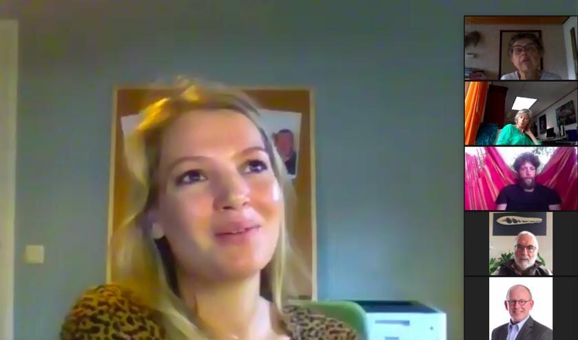 Annemiek Riefel in de Meet Up. Foto: PR