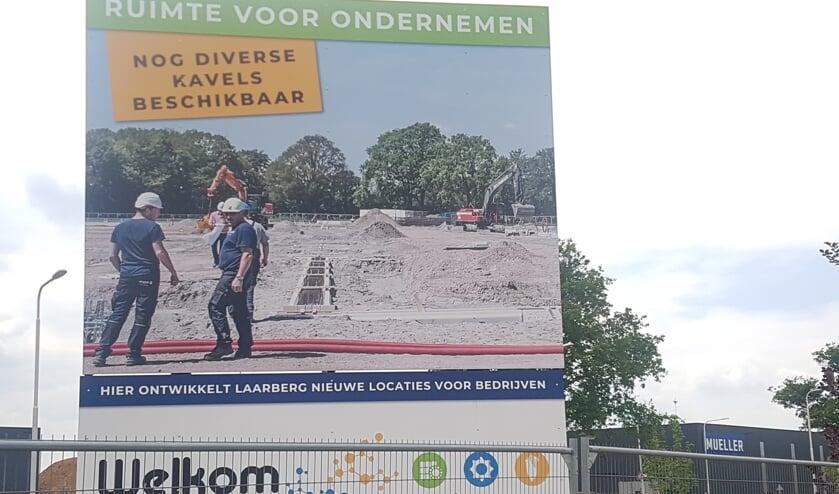 Retranchement, Holtkampspad en Panneman worden de nieuwe straatnamen op De Laarberg.
