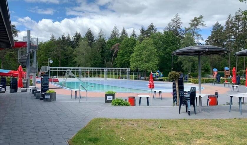 Het zwembad opent rekening houdend met de verschillende maatregelen die in het protocol voor de zwembadbranche staan beschreven. Foto: PR