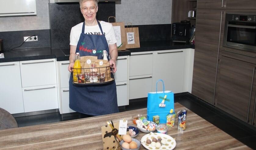 Esther Greven-Vinkenvleugel heeft de ontbijtservice op poten gezet. Foto: Frank Vinkenvleugel
