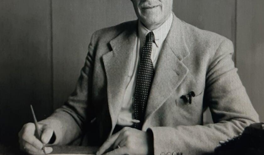 François van Hoogstraten was burgemeester van Hengelo van 1937-1956. Foto: Archief Willy Hermans