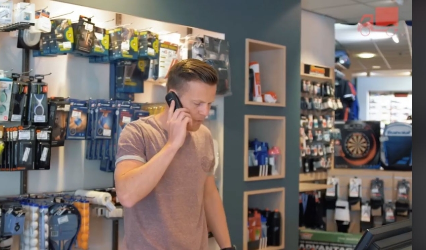 Ook telefonisch bestellen is mogelijk, zoals bijvoorbeeld bij Navis Sport. Foto: PR