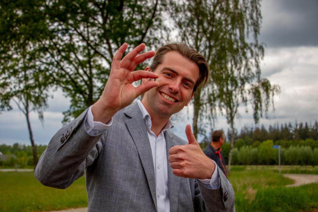 Wethouder Paul Hofman. Foto: Liesbeth Spaansen  © Achterhoek Nieuws b.v.