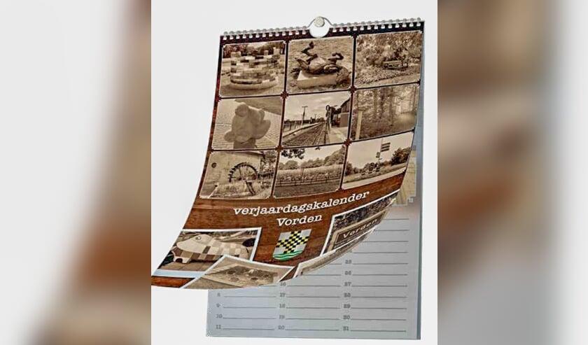 De jaarkalender van het Vorden van nu. Foto: PR