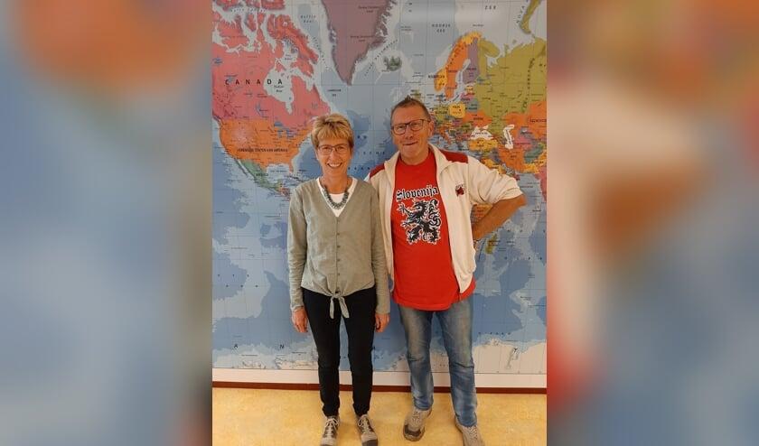 Anja Menkveld en Gerard Oosterlaken. Foto: PR