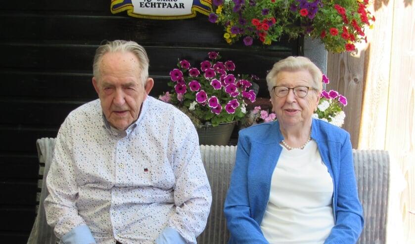 Jan en Stien 70 jaar getrouw. Foto: Jan van der Lende
