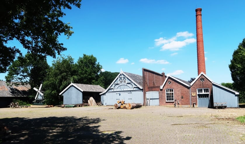 Stoomhoutzagerij Nahuis in Groenlo. Foto: Theo Huijskes