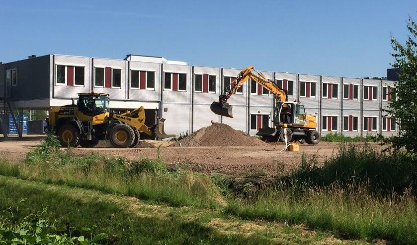 Het tijdelijke woonzorgcentrum in wijk Flierbeek. Foto: PR Careaz