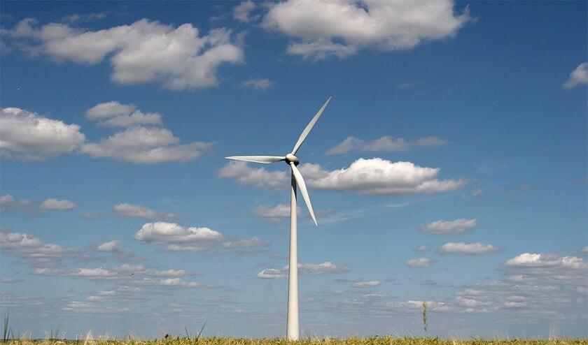 Een windturbine. Foto: Pixaby