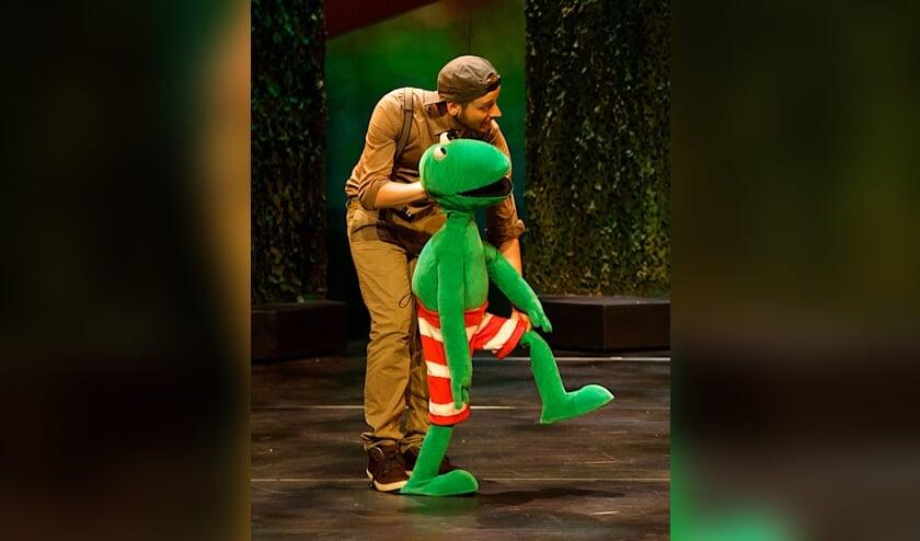 Kikker komt naar het Openluchttheater. Foto: PR OLT Eibergen