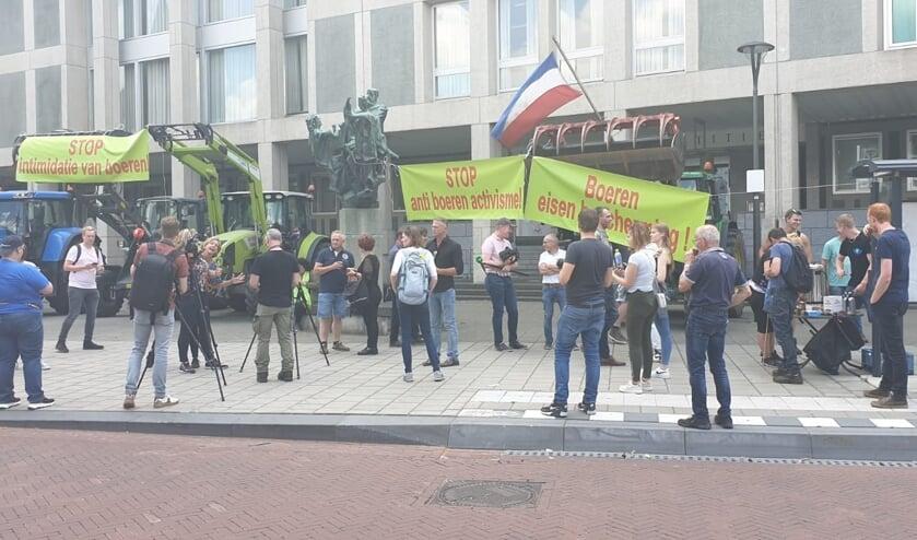 Supporters van Henk Oonk waren onlangs mee naar Arnhem getrokken. Foto: Elizet Oonk