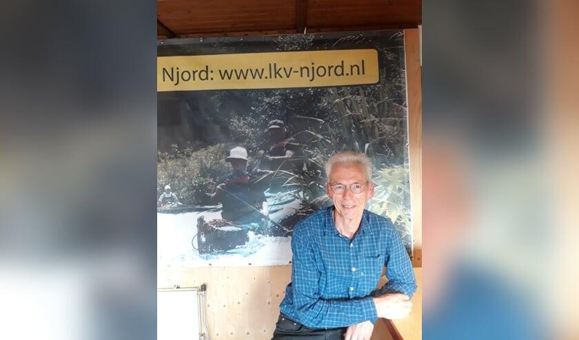 Henk Groeneveld is voorzitter van Njord. Foto: Marieke Post