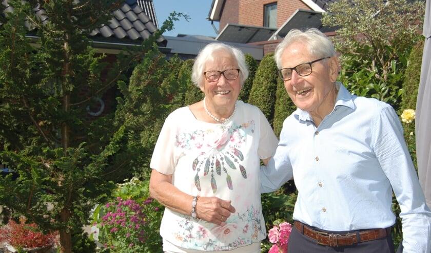Wim en Riek Heesen 65 jaar getrouwd. Foto: Verona Westera