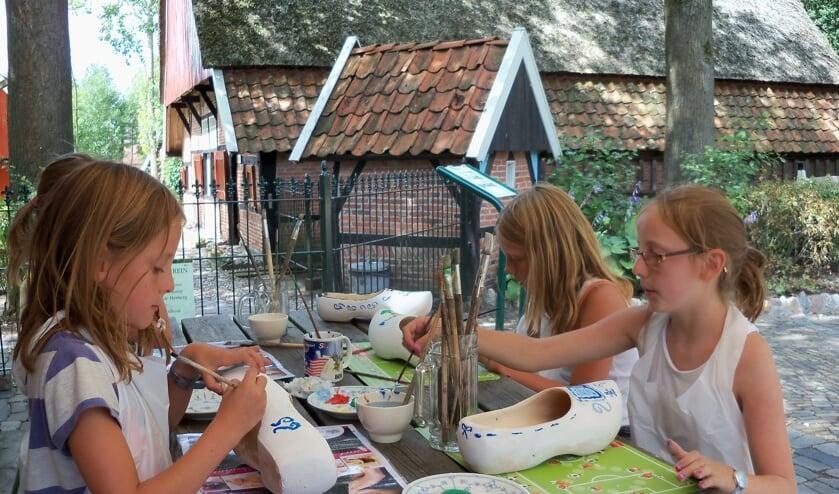 Ook voor kinderen is er van alles te beleven op de ambachtendagen bij Erve Kots. Foto: PR