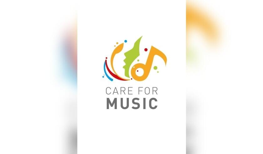 Het nieuwe logo van Care for Music. Afbeelding: PR