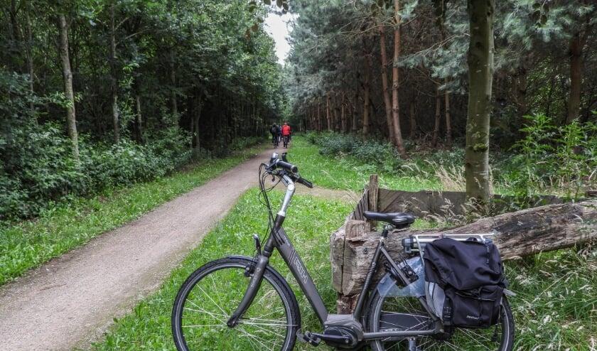Twee fietstochten vanaf het Noasman. Foto: Truus Stotteler