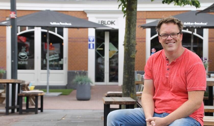"""Ben Freriks is de oprichter van voedselcoöperatie GOED-VOLK. """"Voedselproductie kan veel simpeler en goedkoper met een betere prijs voor de boer en minder effect op het milieu."""" Foto: Annekée Cuppers"""