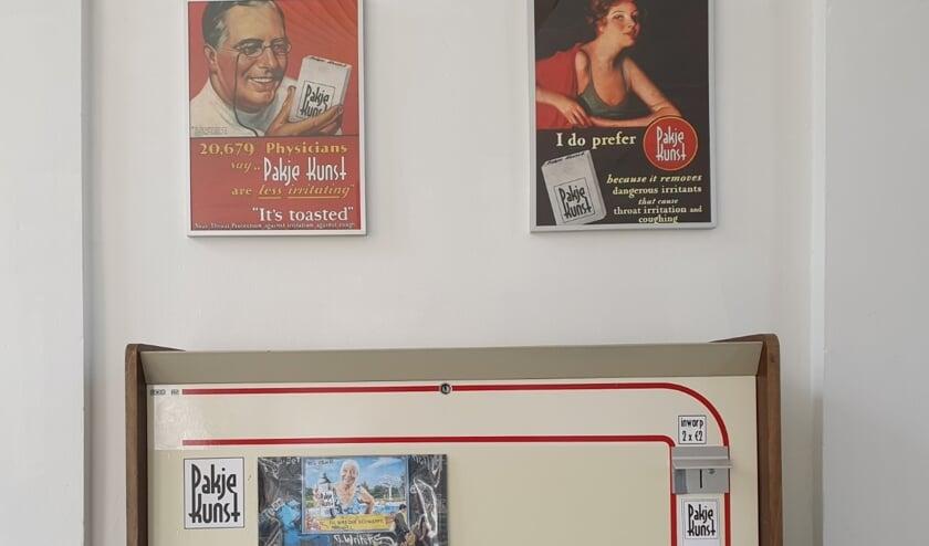 Pakje Kunst automaat in Dat Bolwerck. Foto: Petra Bennis