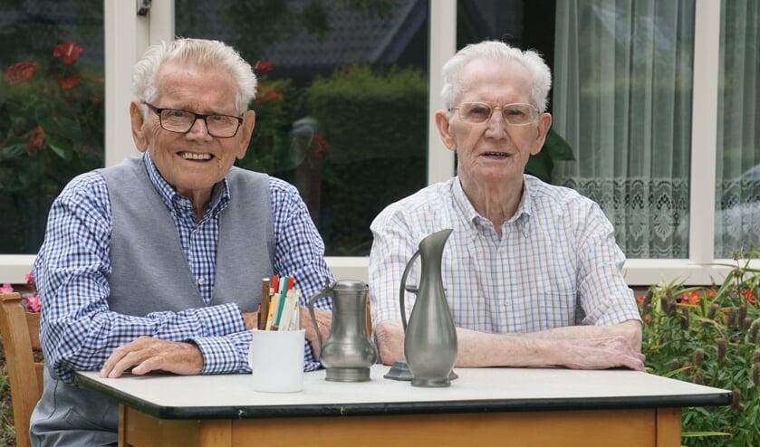 Jan en Henk Boland. Foto: Frank Vinkenvleugel