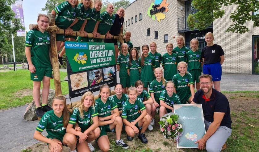 'Samen verder bouwen aan de Achterhoekse trots!'. Foto: PR MVVA