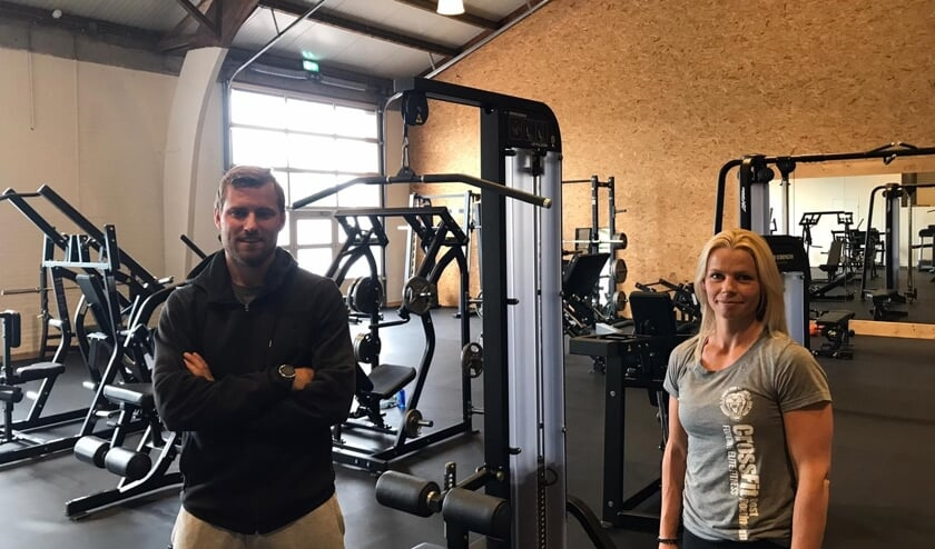 """Ellen Gussinklo van CrossFit Oost: """"We zijn weer begonnen!"""" Foto: PR"""