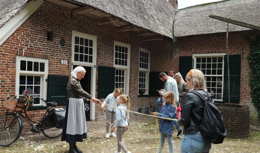 Ook voor kinderen is er veel te zien en te beleven tijdens de Ambachtendag. Foto: PR Erve Kots