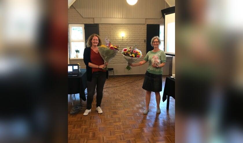 Ellen Korterink (l) en Anja Rouwenhorst. Foto: PR