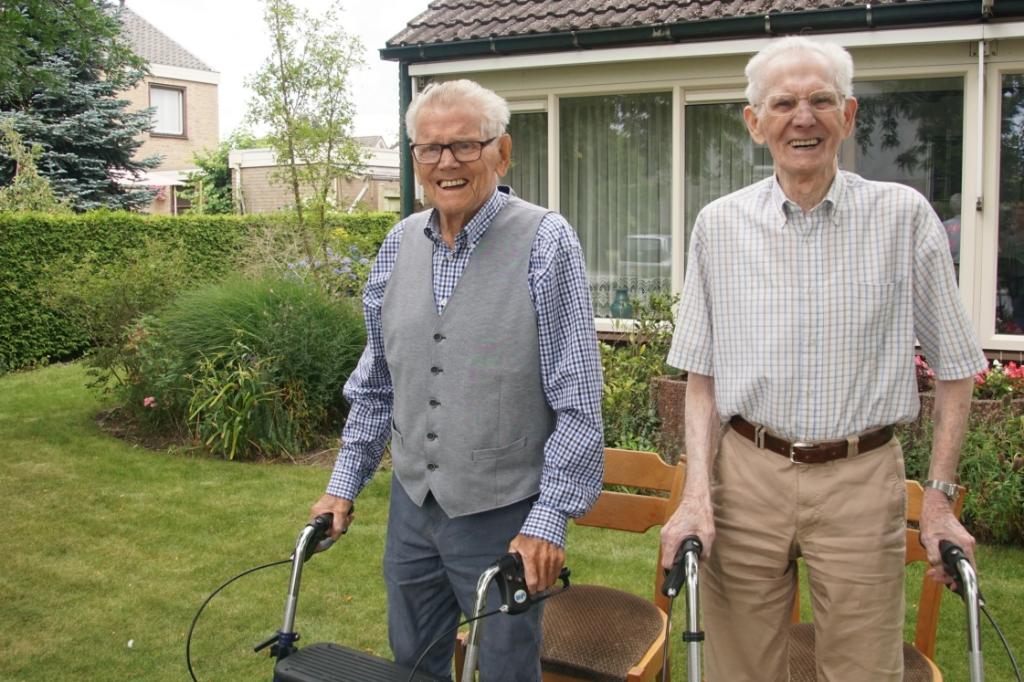 Jan en Henk Boland. Foto: Frank Vinkenvleugel  © Achterhoek Nieuws b.v.
