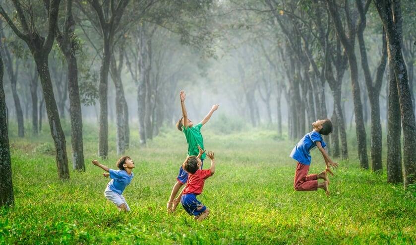 Kinderen kunnen genieten van diverse activiteiten. Foto: unsplash.com