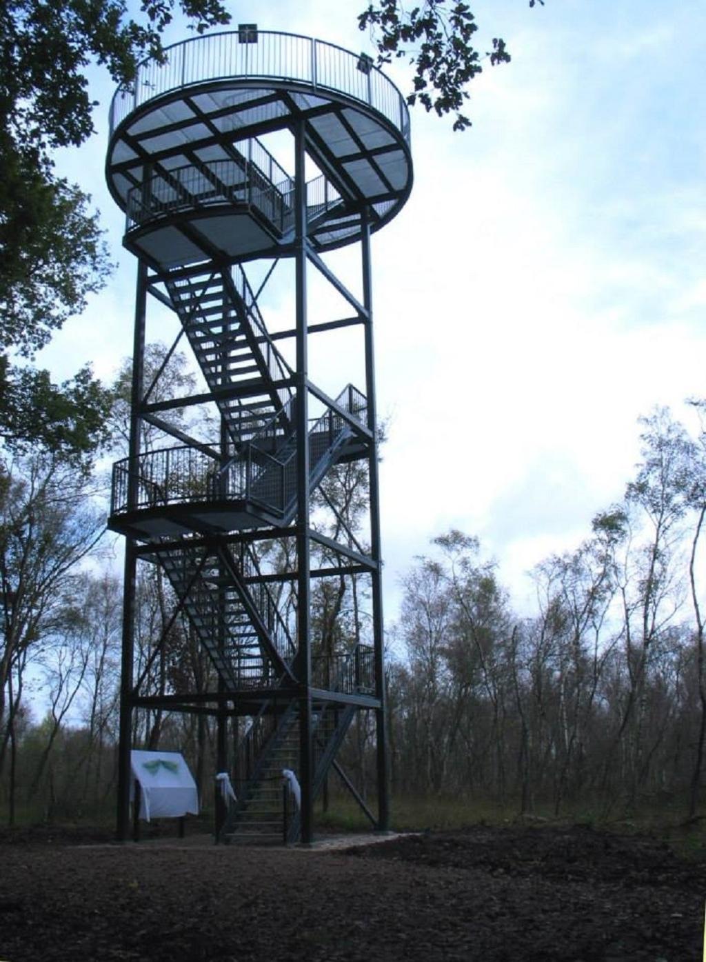 De uitkijktoren in het Vragenderveen. Foto: PR Marke Vragenderveen
