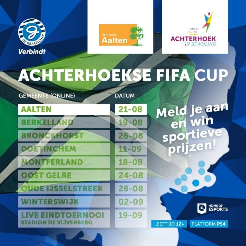 In alle Achterhoekse gemeenten is een lokaal toernooi, gevolgd door het eindtoernooi op De Vijverberg. Foto: PR