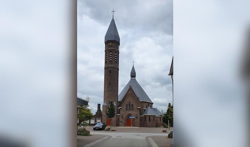 De fraaie Sint Caeciliakerk in Rietmolen. Foto: Rob Weeber