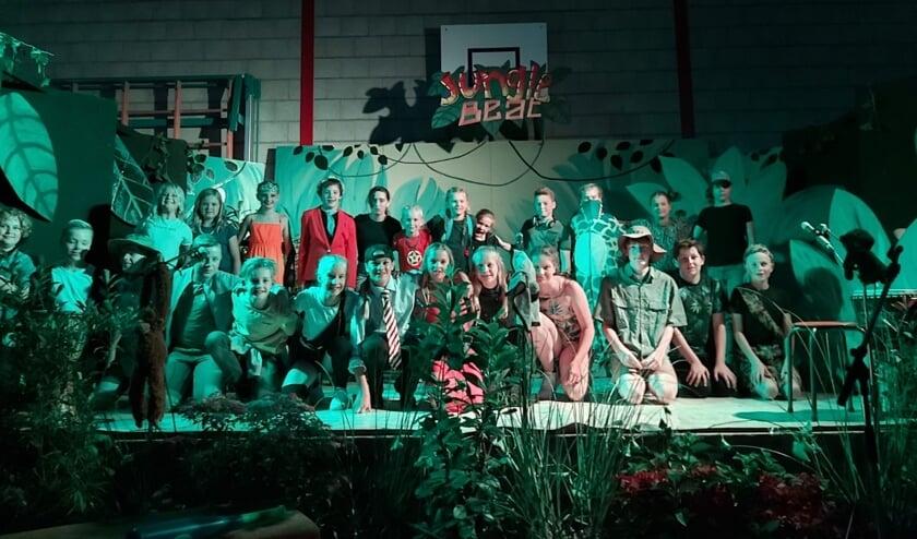 De cast van Jungle Beat. Foto: S. Floors