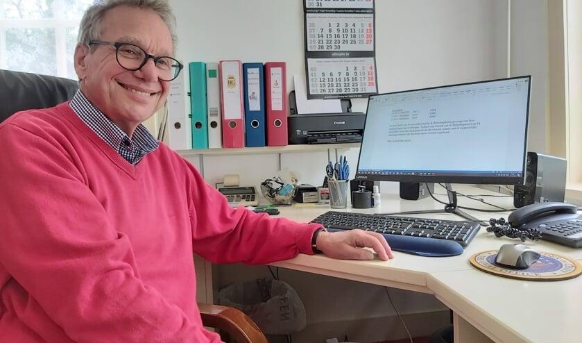 George Udcoff doet vrijwilligerswerk voor meerdere organisaties. Foto: Ria Elstgeest