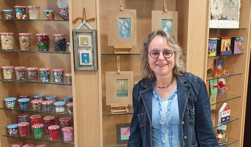 Marika Meershoek in haar atelier. Foto: Rob Weeber