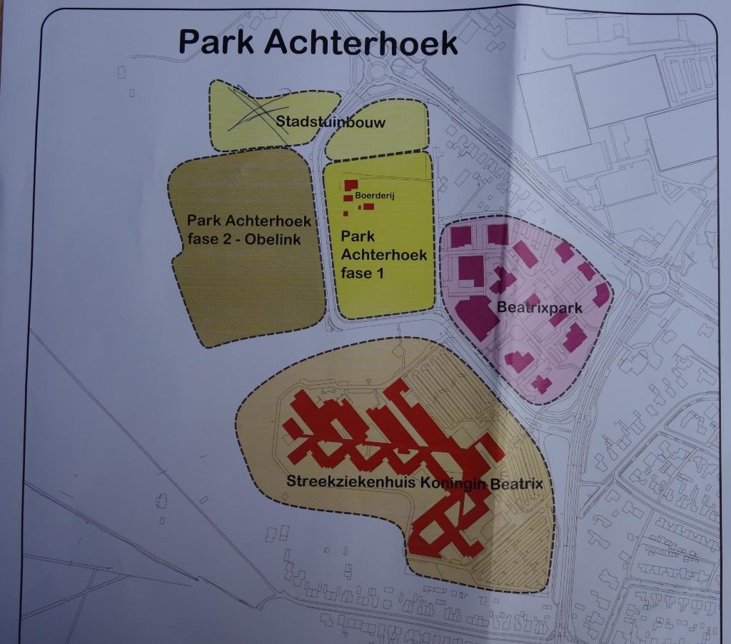 Het gebied ten noorden van Fase 2 bestemd voor stadstuinbouw is komen te vervallen. Afbeelding: PR   © Achterhoek Nieuws b.v.