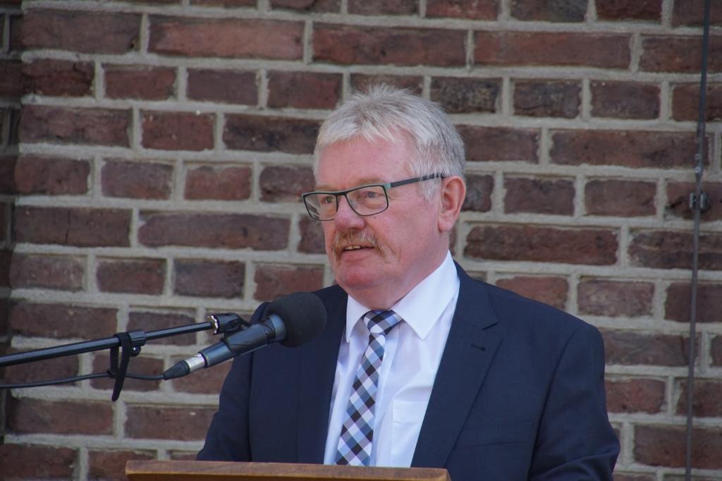 Peter Nebelo, burgemeester Bocholt. Foto: Frank Vinkenvleugel  © Achterhoek Nieuws b.v.