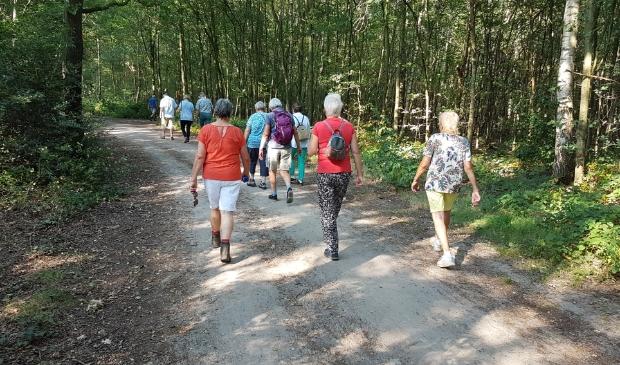Samen wandelen tijdens het Berkellands Ommetje. Foto: PR