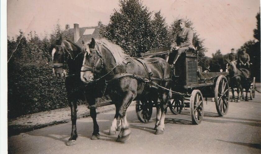 Wat is dit voor een vervoer? Foto: collectie Ben Maandag